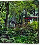 Beijing Gardens Canvas Print