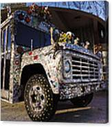 Bejeweled Bus Canvas Print