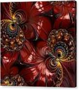Bejewelled Crimson Canvas Print