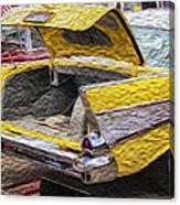 Bel Air Boot Canvas Print