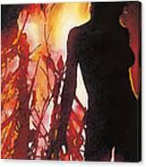 Bel Fire Canvas Print