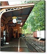 Belgrave Train Station Canvas Print