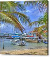 Belize Hdr Canvas Print