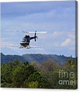 Bell 206 Helicopter Canvas Print