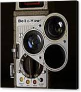 Bell And Howell 333 Movie Camera Canvas Print