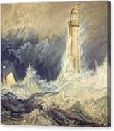Bell Rock Lighthouse Canvas Print