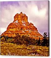 Bell Rock Sedona Az Canvas Print