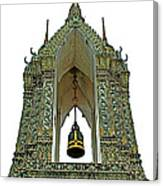 Bell Tower In Wat Po In Bangkok-thailand Canvas Print