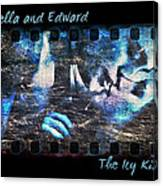 Bella And Edward - The Icy Kiss Canvas Print