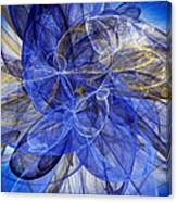 Bella Blue Canvas Print