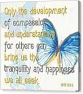 Bella Butterflies 1 Canvas Print