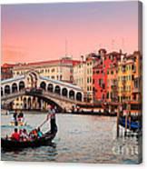 La Bella Canal Grande Canvas Print