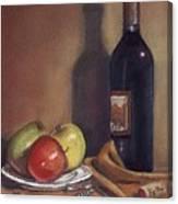 Bella Wine Tasting Canvas Print
