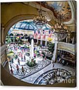 Bellagio Conservatory And Botanical Gardens Canvas Print