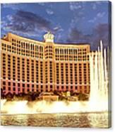 Bellagio Las Vegas Canvas Print