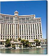 Bellagio Resort And Casino Panoramic Canvas Print