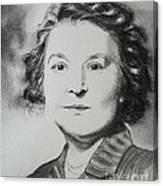 Belle Grand-mere Piche Canvas Print