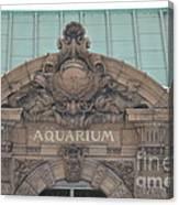 Belle Isle Aquarium Entrance 1 Canvas Print