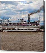 Belle Of Louisville Canvas Print