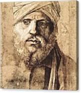 Bellini, Giovanni 1430-1516. Man Canvas Print