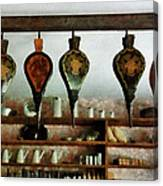 Bellows In General Store Canvas Print