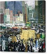 Bellows' New York Canvas Print