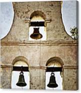 Bells Of Mission San Diego Canvas Print
