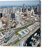 Belltown In Downtown Seattle Canvas Print