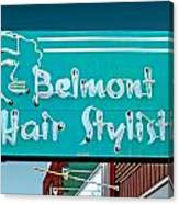 Belmont Hair Stylists Canvas Print