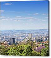 Belo Horizonte Canvas Print