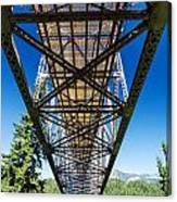 Below A Bridge Canvas Print
