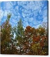 Below The Clouds Canvas Print