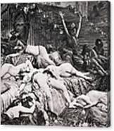 Belshazzars Feast Canvas Print