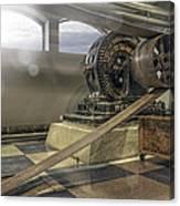 Belt-driven Power Canvas Print