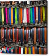 Belts Galore Canvas Print