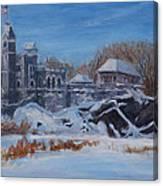 Belvedere Castle Central Park Nyc Canvas Print