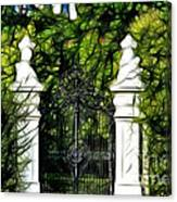 Belvedere Palace Gate Canvas Print