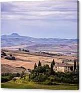 Belvedere Tuscany Canvas Print