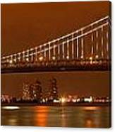 Ben Franklin Bridge Giant Panorama Canvas Print