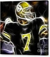 Ben Roethlisberger  - Pittsburg Steelers Canvas Print