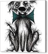 Ben The Dog Canvas Print