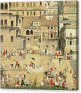 Benares Canvas Print