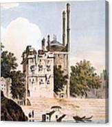 Benares On The Ganges Canvas Print