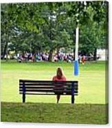 Bench Thoughts Canvas Print