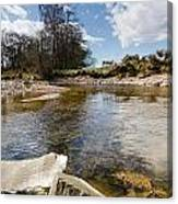 Bend In The Breamish River Canvas Print