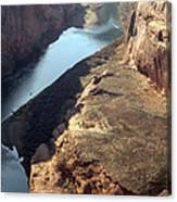 Bend In The Colorado River Canvas Print