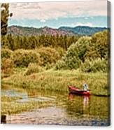 Bend/sunriver Thousand Trails Canvas Print