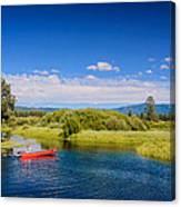 Bend Sunriver Thousand Trails Oregon Canvas Print