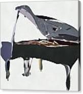 Bendy Piano Canvas Print