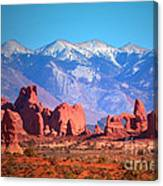 Beneath Blue Skies Canvas Print